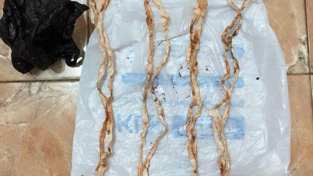 Polisi Temukan Tali Pocong yang Dibuang Irpan ke Sungai