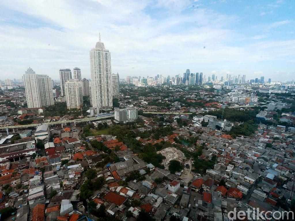 Potret Kepadatan Penduduk di Wilayah Jakarta Selatan