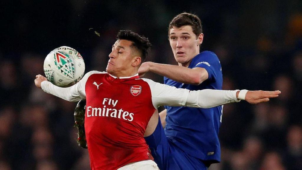 Foto: Arsenal Imbangi Chelsea di Stamford Bridge