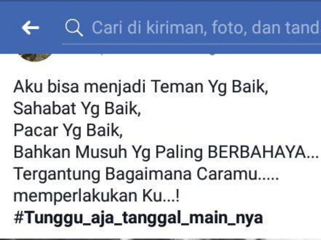 Viral Status Medsos Terduga Pembunuhan Sadis di Banda Aceh