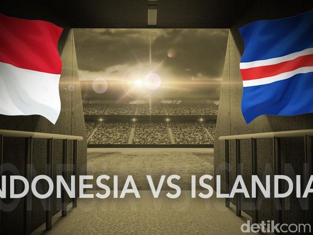 Turun Minum, Indonesia Selection Tertinggal 0-1 dari Islandia