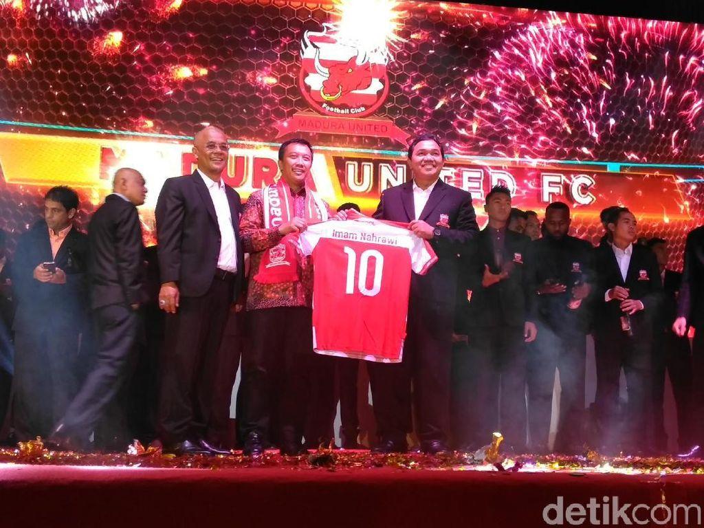 Madura United Launching Tim untuk Arungi Liga 1 2018