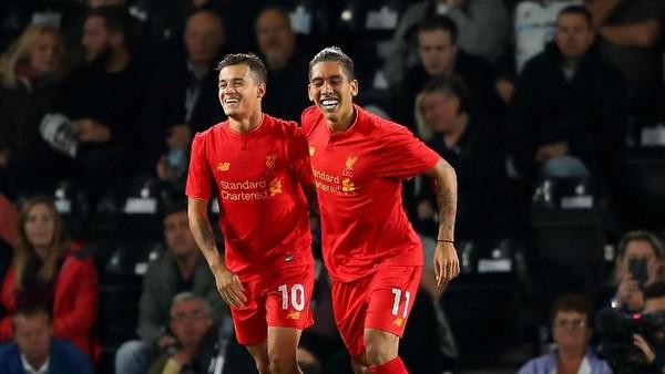 Firmino ke Coutinho: Liverpool Tak Lagi Sama Tanpamu