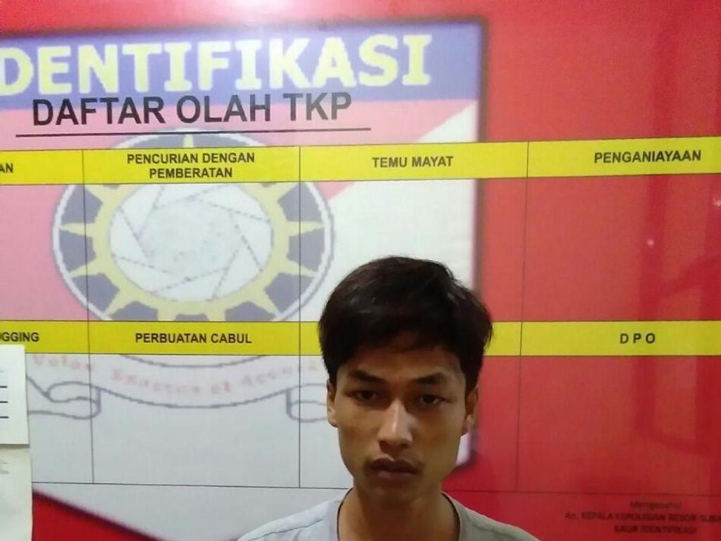 Begini Akting Ato Saat Pura-pura Jadi Korban Begal di Sukabumi