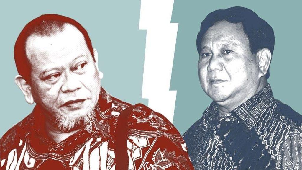 Tak Dukung Prabowo, La Nyalla Dorong Yusril hingga Anies Nyapres