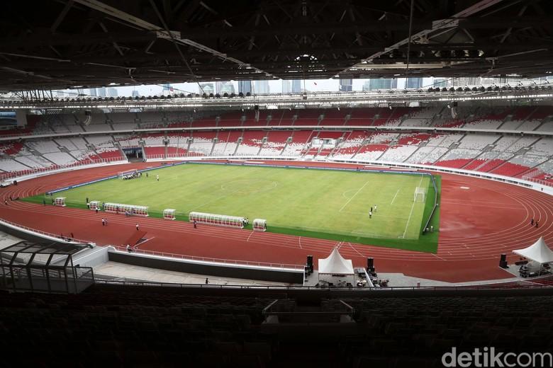 Foto: Stadion Utama GBK yang Kian Ciamik