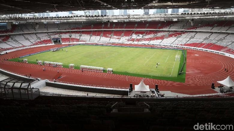 Video: Wajah Baru Stadion GBK yang Bikin Bangga