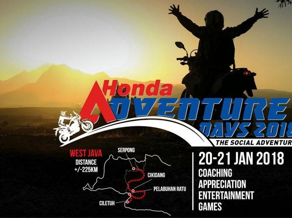 Ada Trek Seru dan Menantang di Honda Adventure Days 2018