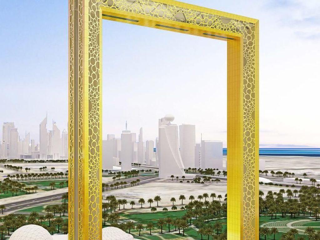 Wow! Dubai Punya Bingkai Foto Terbesar di Dunia