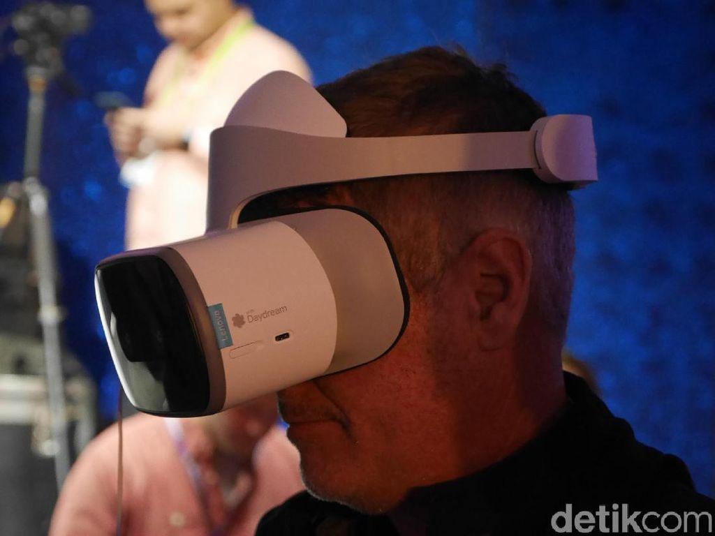 Lenovo Mirage Solo, Gadget VR dengan Jeroan Ponsel Flagship