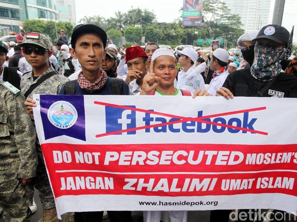 FPI Beri Waktu Facebook Jawab Tuntutan Massa hingga Senin
