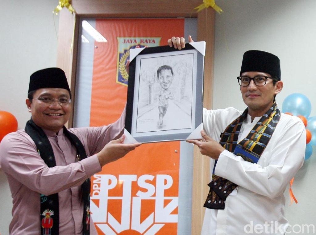 Wagub Sandi Uno Hadiri Perayaan Ulang Tahun PTSP