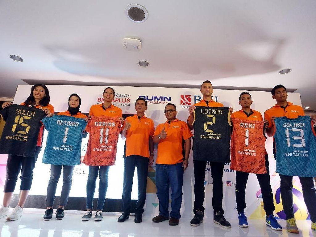 Jakarta BNI Taplus di Proliga 2018: Pilih Home Base di Bali, Target Kawinkan Gelar