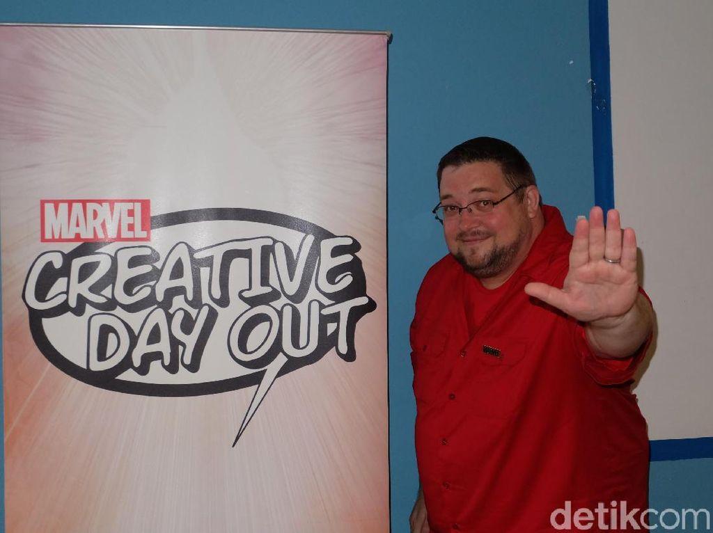 Ngobrol Bareng Editor Komik Marvel, C.B Cebulski
