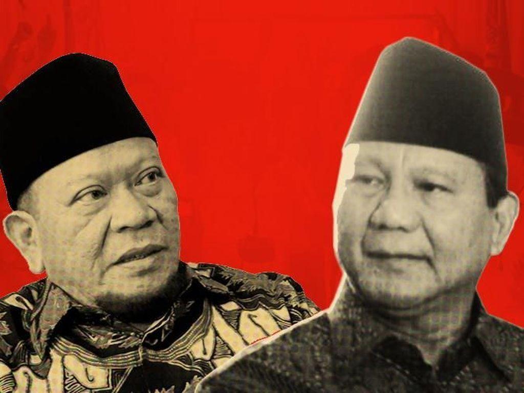 La Nyalla Tak Dukung Prabowo Jadi Capres: Dia Susah Menang