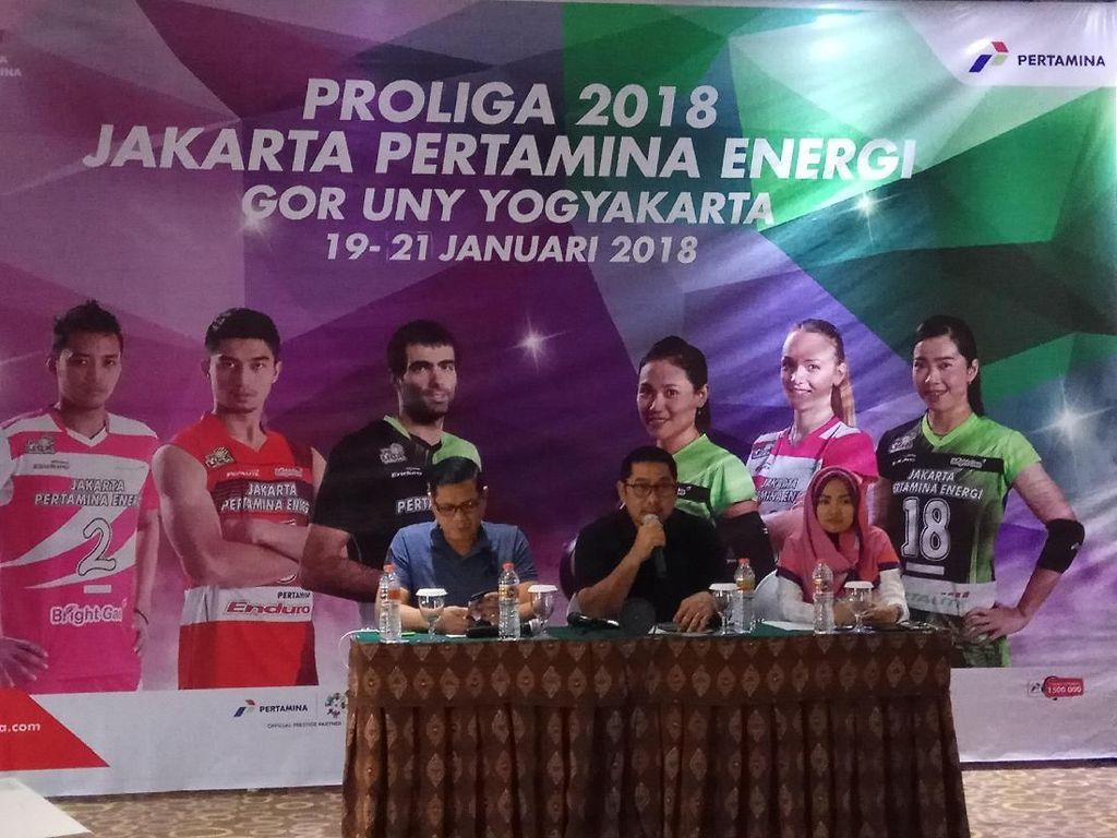 Pekan Depan, Seri Pembuka Proliga 2018 Digelar di Yogyakarta