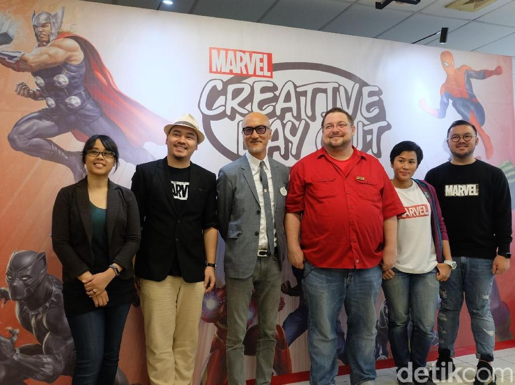 Tips Marvel untuk Ilustrator Indonesia