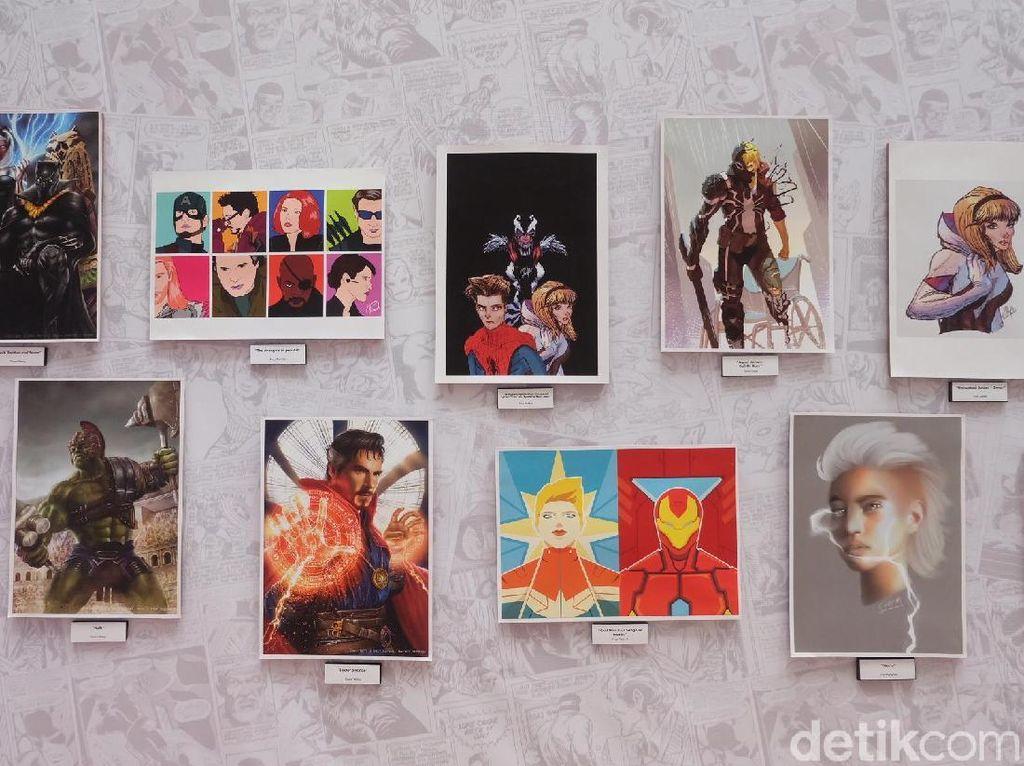 Melihat Karya Para Ilustrator Indonesia di Marvel Creative Day Out 2018