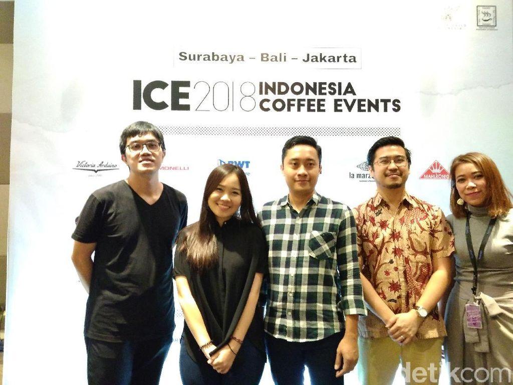 Barista dan Pegiat Kopi Bersiaplah, Indonesia Coffee Event 2018 Akan Kembali Digelar