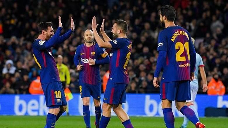 Alba Nikmati Kerja Samanya dengan Messi
