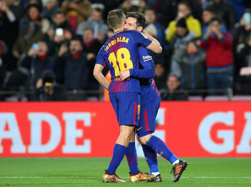 Messi dan Alba yang Makin Klik Saja