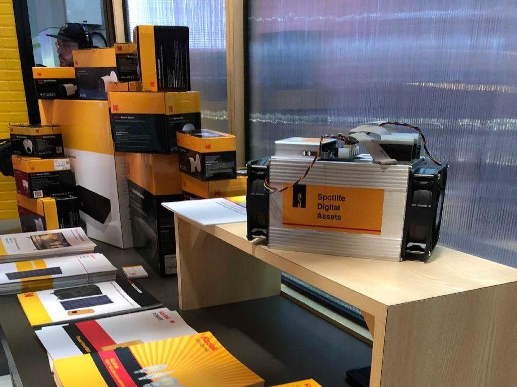 Kodak Sewakan Mesin Penambang Bitcoin, Berapa Tarifnya?