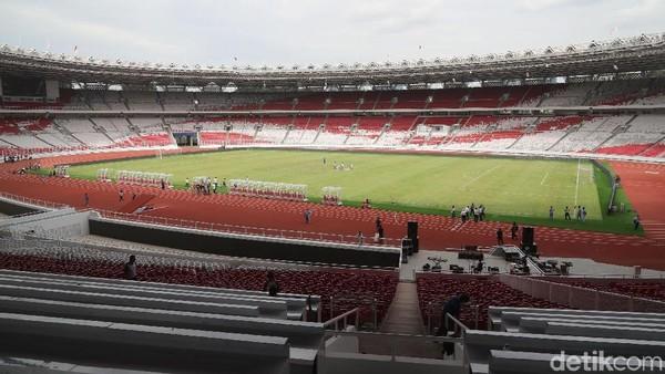 Stadion Utama GBK Sudah Siap 100%