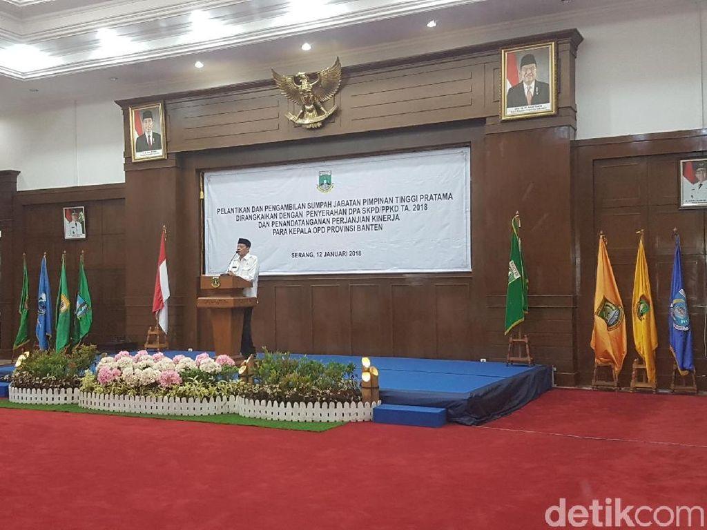 Gubernur Banten: Yang Paling Banyak di Neraka Itu Pegawai Negeri