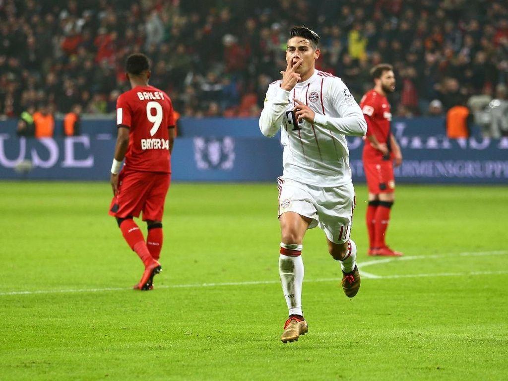 Tundukkan Leverkusen, Bayern Makin Mantap di Puncak Klasemen