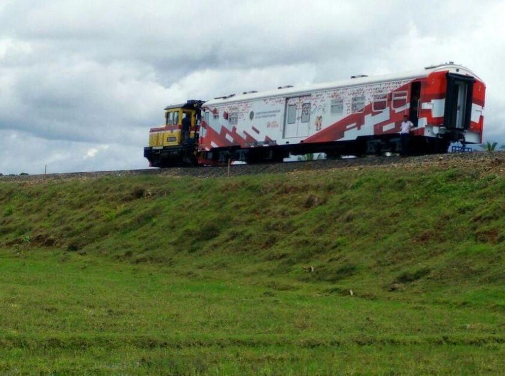 Mengintip Progres Kereta Trans Sulawesi yang Sempat Dikritik JK
