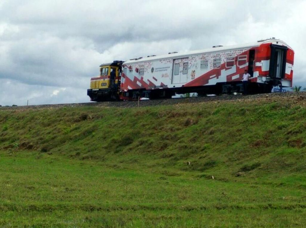 Dikritik JK, Ini Manfaat Kereta Trans Sulawesi