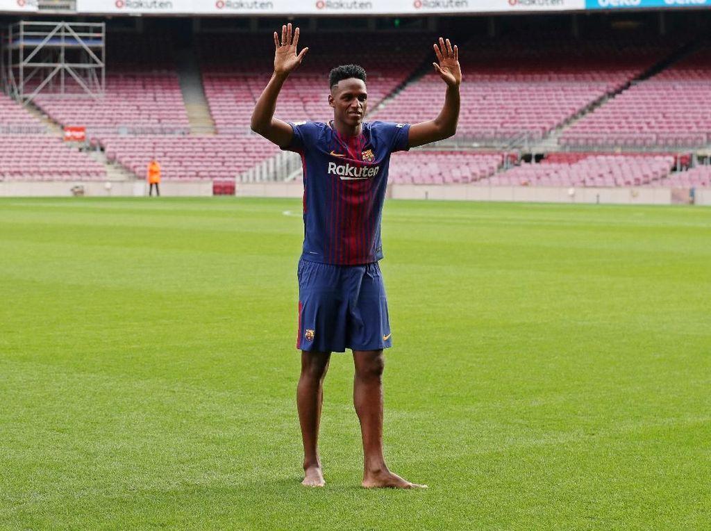 Rumor Transfer Menguat, Mina Absen dari Latihan Barcelona