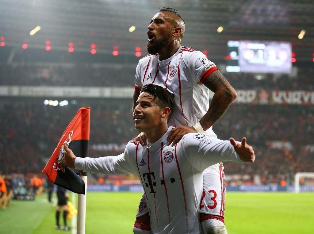 Bayern Munich Makin Perkasa di Bundesliga