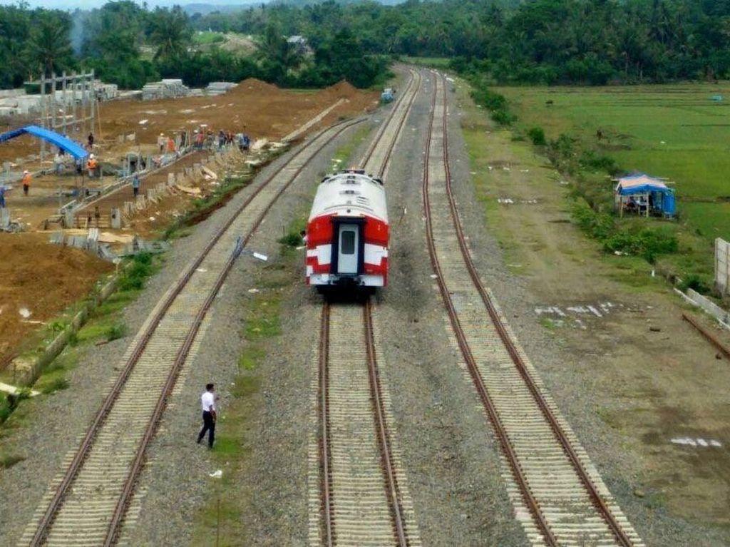 Jalur Kereta Trans Sulawesi 44 Km Beroperasi Akhir 2019