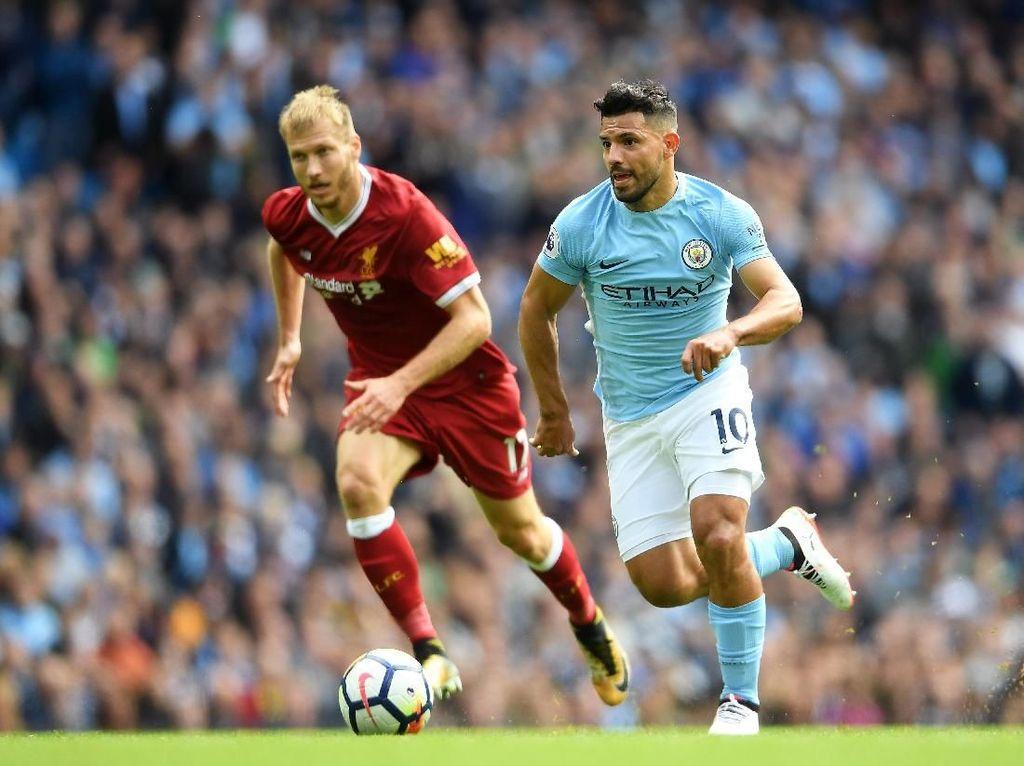 Aguero Berpeluang Main Lawan Liverpool