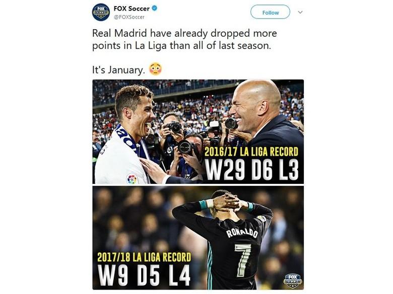 Real Madrid pun Ditertawakan Lagi