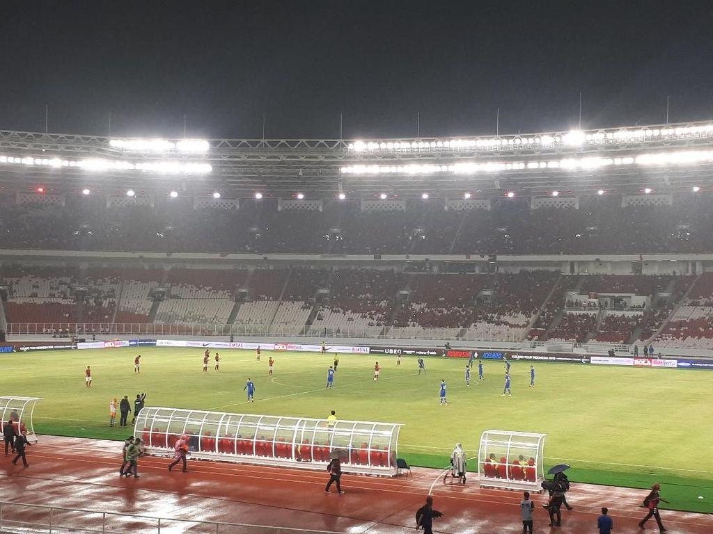Babak Pertama, Indonesia Imbangi Islandia 1-1
