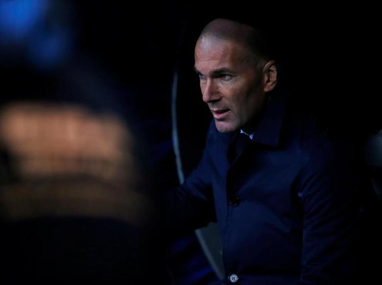 Zidane: Bolanya Tak Mau Masuk ke Gawang