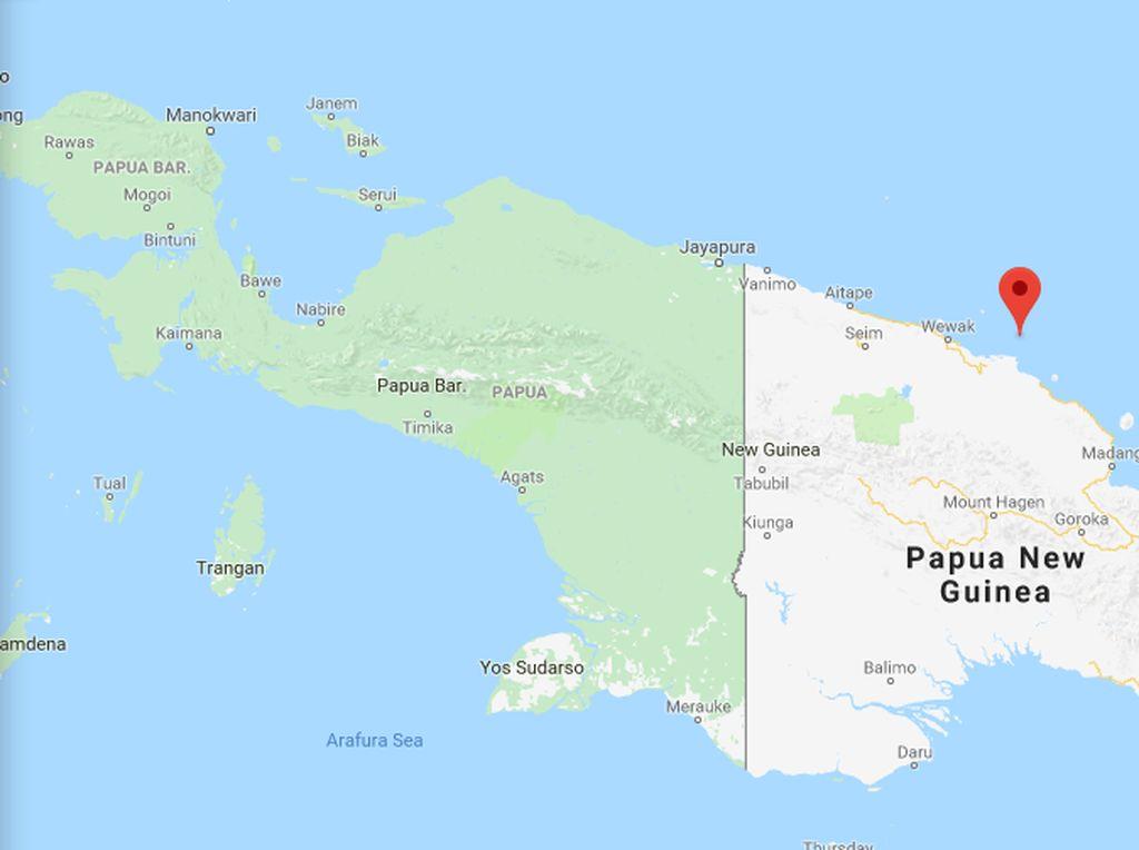 1.500 Orang Dievakuasi Akibat Letusan Gunung Api di Papua Nugini