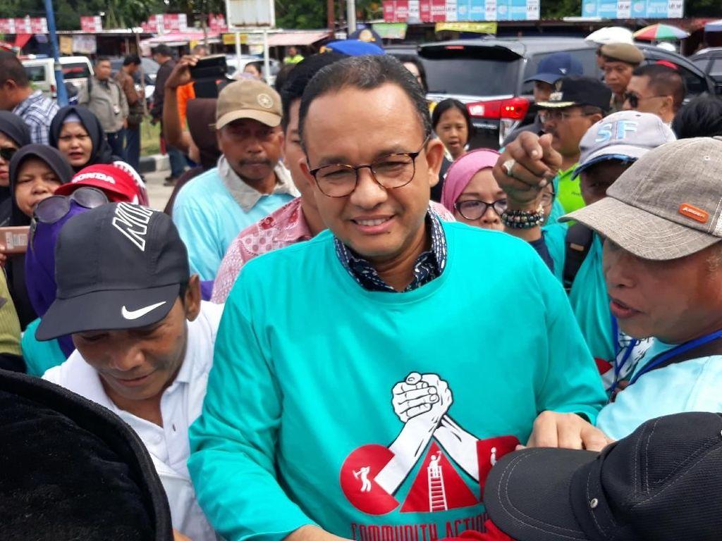 Tiba di Waduk Pluit, Anies Akan Luncurkan Program CAP