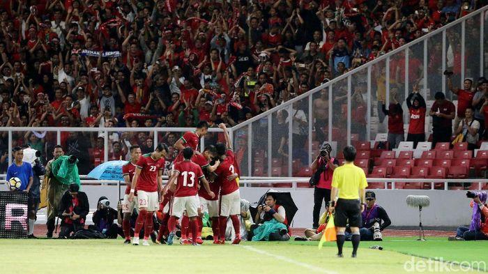 Timnas Indonesia menempati peringkat 162 di ranking terbaru FIFA. (Foto: Ari Saputra)