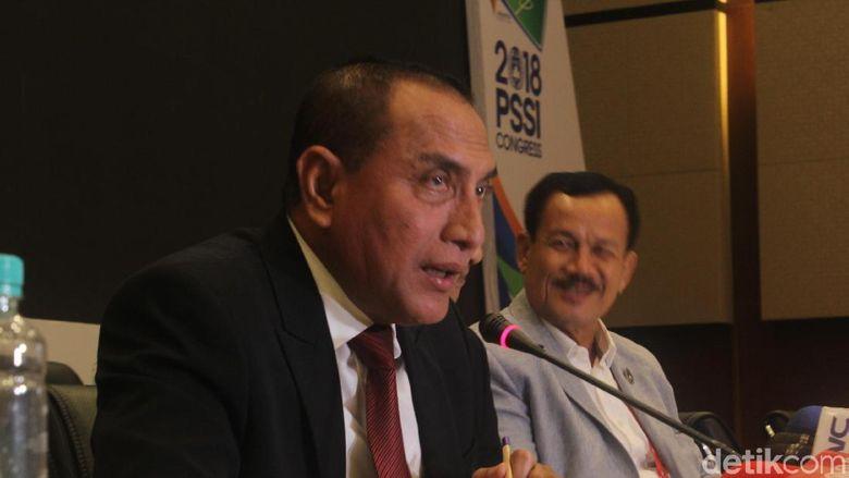 Terpilih Jadi Gubernur Sumatera Utara, PSSI: EdyTetap Ketum