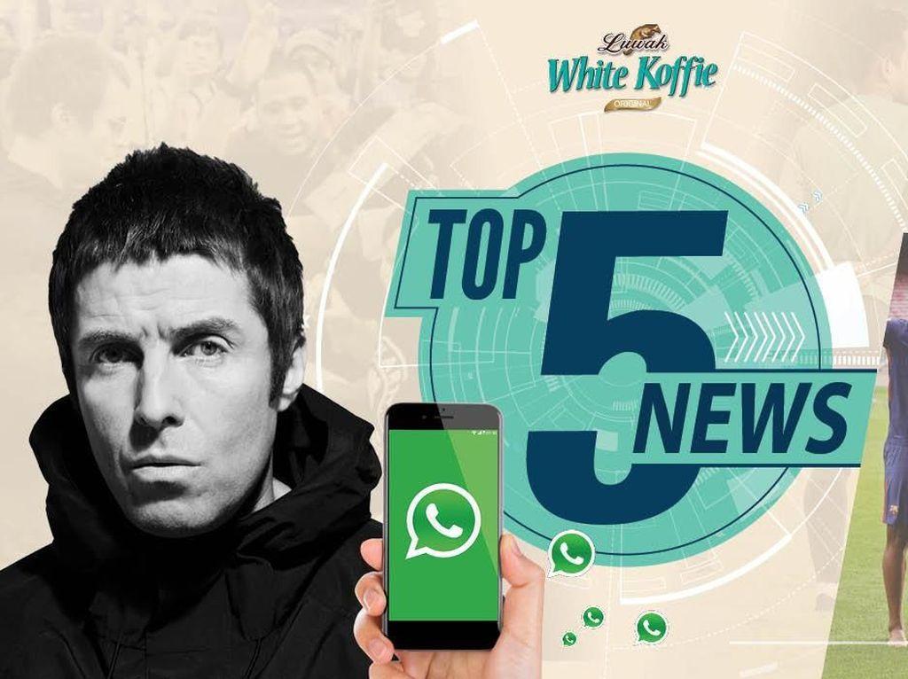 Area Konser Liam Gallagher Padat, Admin WhatsApp Bisa Dilengserkan