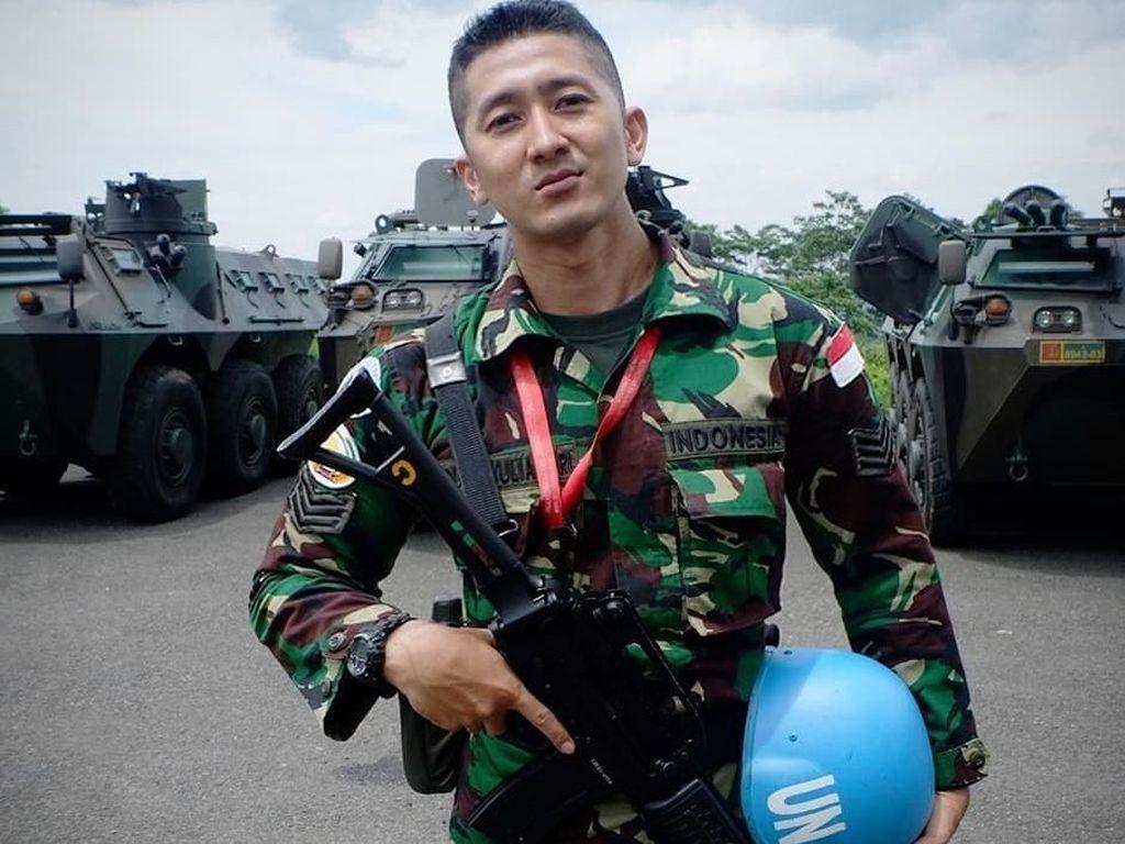 Pesona Dhuha Fatih, Tentara Indonesia yang Tak Kalah Ganteng dari Aktor Korea