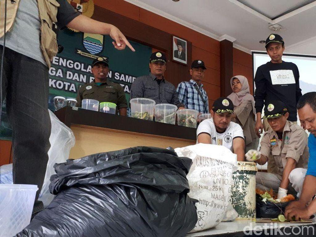 Kodim 0618/BS Jadi Proyek Percontohan Pengolahan Sampah Organik