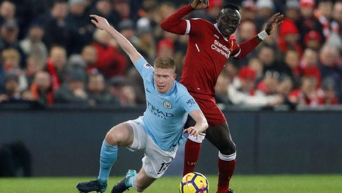 Duel Liverpool vs Manchester City panaskan Premier League pekan ke-8. (Foto: Carl Recine/Action Images via Reuters)
