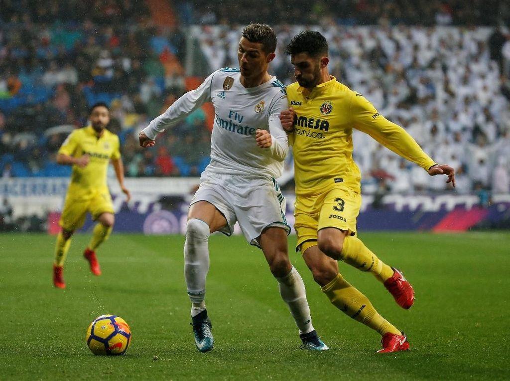 Real Madrid Ditenggelamkan Villarreal di Bernabeu