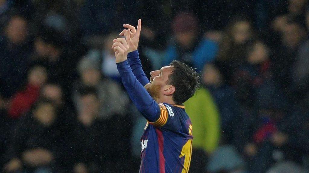 Foto: Messi di Antara Para Bomber Liga-liga Top Eropa