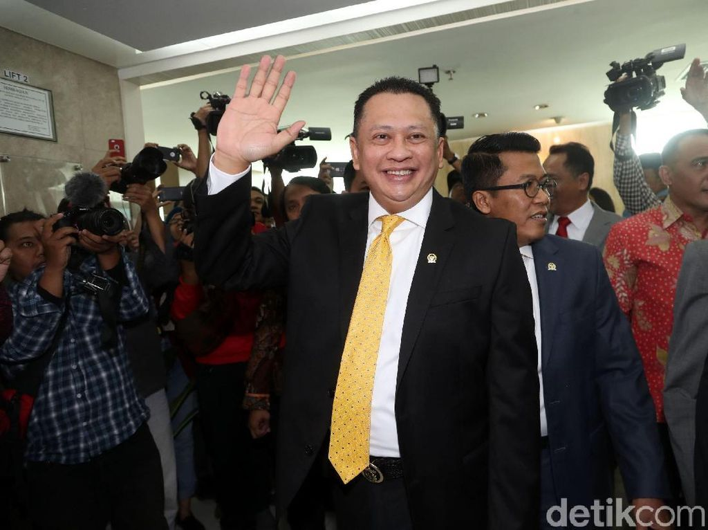 Usai Fraksi, Bamsoet Rapat Bareng Seluruh Pimpinan Komisi di DPR
