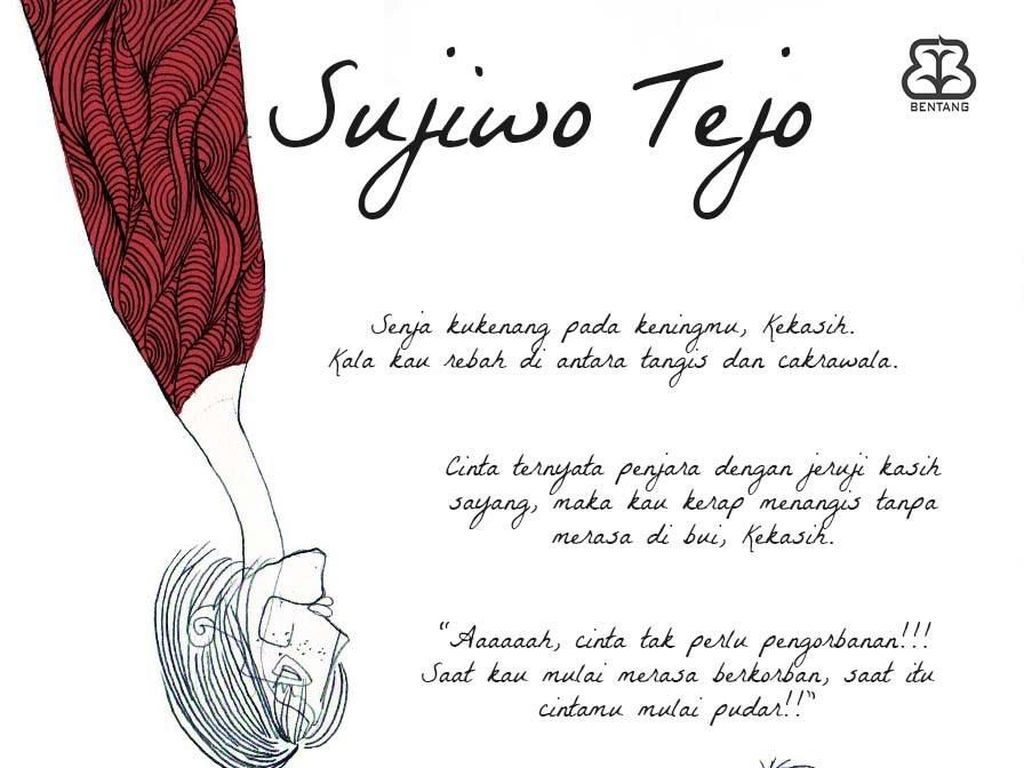 Sujiwo Tejo Segera Rilis Buku Baru